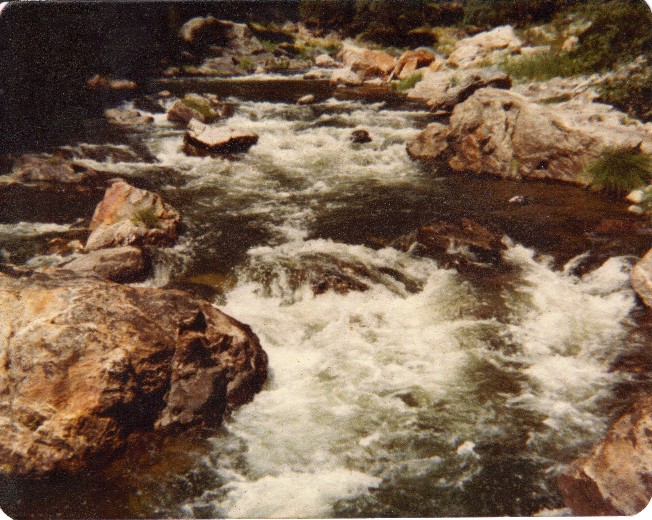 North Fork of the Yuba River, Late 1970s
