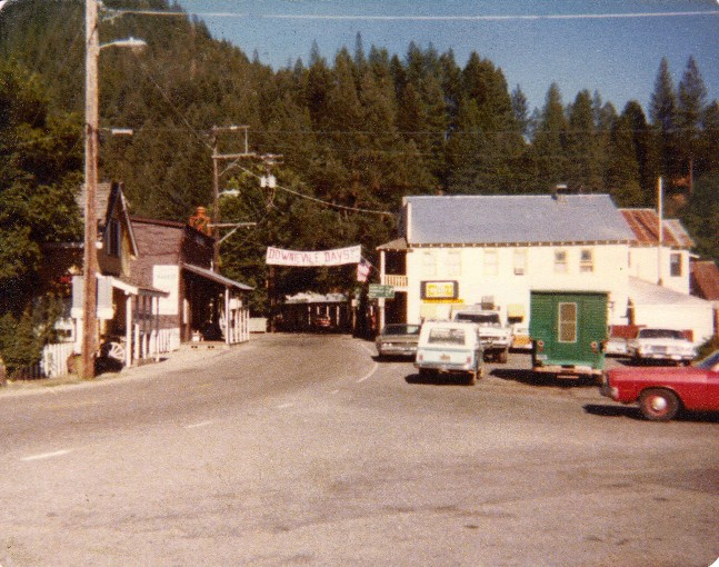 Downieville, CA in the Late 1970s
